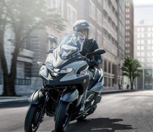 新型Leaning Multi Wheel「TRICITY300 ABS」を発売