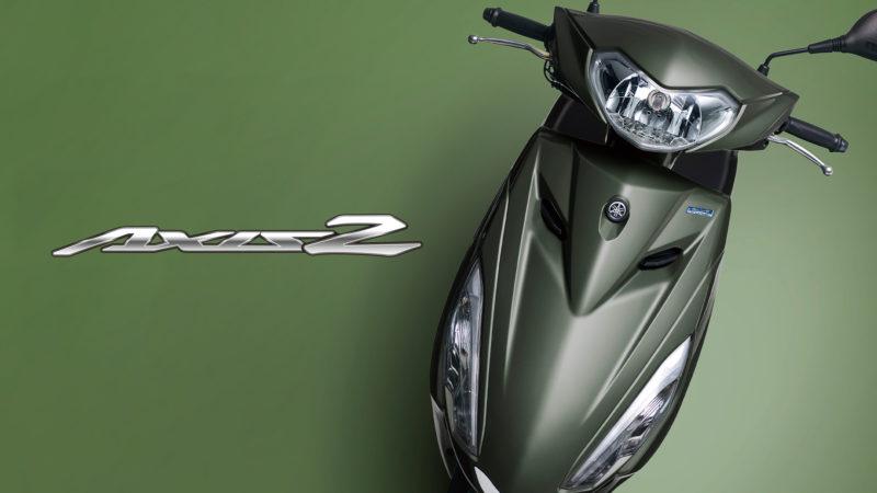 原付二種スクーター「AXIS Z」2021年モデルを発売