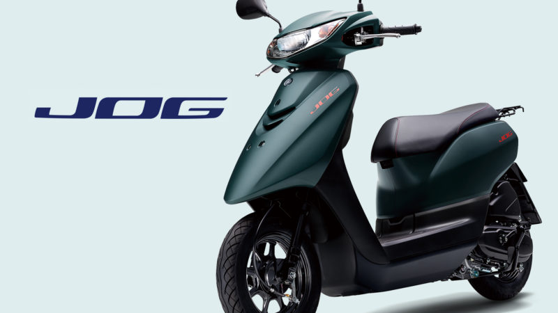「JOG Deluxe」「JOG」 2021年モデルを発売