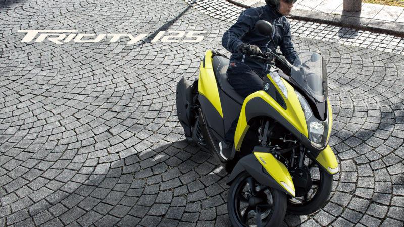 原付二種「TRICITY 125/ABS」 2021年モデルを発売